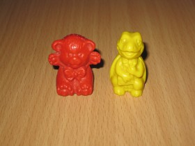 Bear and Tortoise Ferrero Wasco beer en schildpad set