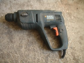 Black & Decker 550W cekic busilica SDS+