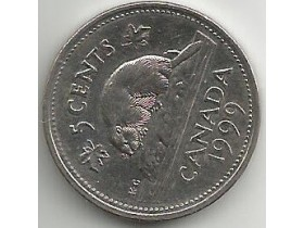 CANADA-5 Cents 1999