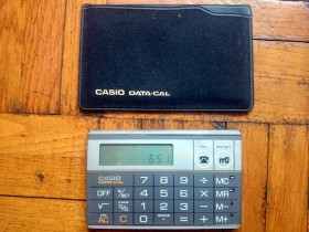 CASIO  data cal