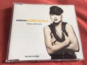 CD - Madonna - Justify My Love