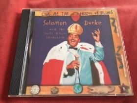 CD - Salomon Burke - Live At The House of Blues