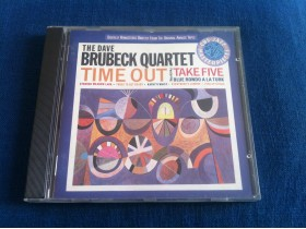CD - The Dave Brubeck Quartet - Time Out
