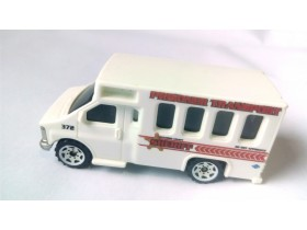 CHEVY TRANSPORT BUS, Matchbox, 1:80,  1998.god
