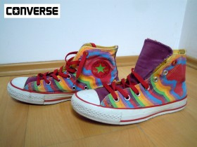 CONVERSE - ALL STAR interesantne duboke patike, 38
