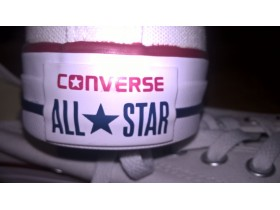 CONVERSE PATIKE Chuck Taylor All Star Core Ox 42, bele
