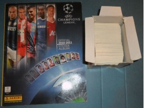 Champions League Panini 2010/11 set slicica i album
