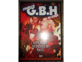 Charged G.B.H. - City baby attacked by ratts DVD