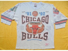 Chicago Bulls NBA majica back to back 91,92 Champions