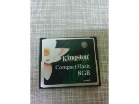Compact Flash Kingston 8GB