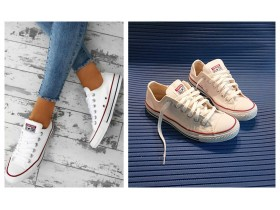 Converse ALL STAR original bele starke 39