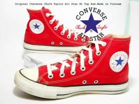 Converse Chuck Taylor All Star Hi Top Red.39-25cm !