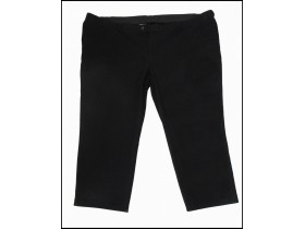 Crne Pantalone Big Fashion kao nove 6 XL
