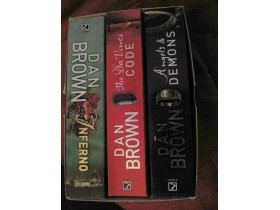 DAN BROWN: TRILOGY ( 3 books in the box)