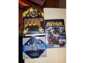 DARK FALL,GROUND CONTROL,DOOM3. ORGINAL
