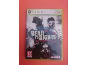 DEAD TO RIGHTS RETRIBUTION - Xbox igrica