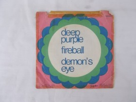 DEEP PURPLE - FIREBALL - DEMONS EYE