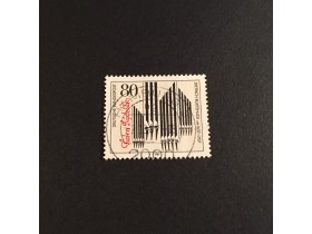 DEUTSCHE BUNDESPOST 1987