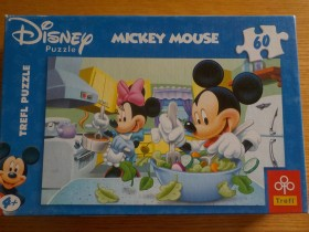 DISNEY Mickey Mouse puzzle -60 kom