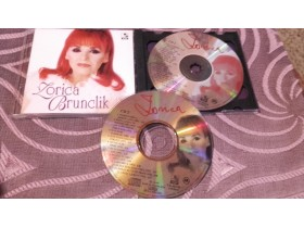 DUPLI CD-ZORICA BRUNCLIK-ORIGINAL-NOVO-