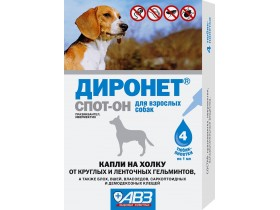 Dironet SPOT-ON protiv parazita  - 1 pipeta 1 ml