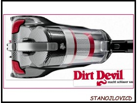 Dirt Devil Infiniti VS8Carbon Limitirana serija GERMANY