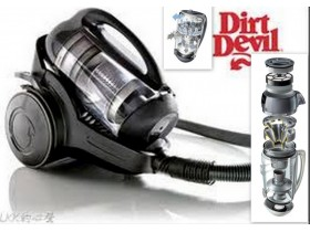 Dirt Devil Multiciklon 4fazefiltracRotacina pap Germany