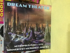 Dream Theater - 2 lp- live 93 summerfest Milwauke HevyM