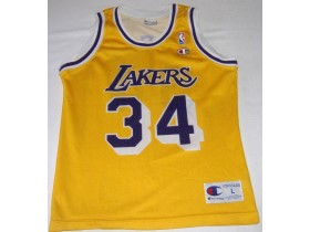 Dres, NBA, LAKERS, O'Neal #34, Champion!