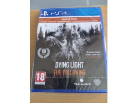 Dying Light:The Following - Enhanced Edition  PS4  NOVA
