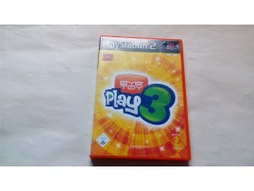 EYE TOY PLAY 3 - igra za SONY PLAYSTATION 2