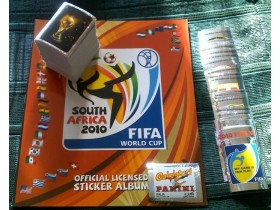 FIFA 2010 Panini WC Afrika ceo set i prazan album
