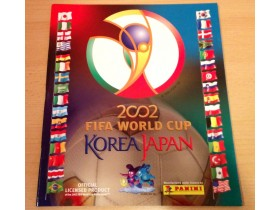Fifa 2002 Korea Japan Panini - Prazan Album