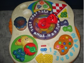 Fisher price edukativni muzicki stocic