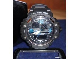 G-shock CASIO Dual Time 1/100S Chrono,Plave brojke.