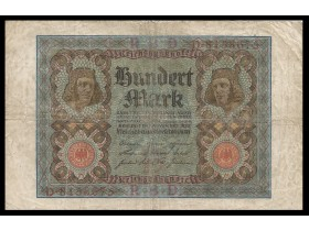 GERMANY-100 Mark 1920(7 br.)