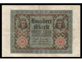 GERMANY-100 Mark 1920(8 br.)