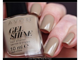 Gel Shine lak sa efektom gela BARELY THERE...Avon