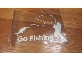 Go Fishing Sticker
