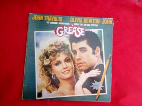 Greas  Joht Travolta  Olivia Newton- John