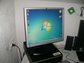 HP monitor 19 inca