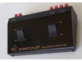 HQ SPSWITCH-2P 2 WAY SPEAKER SWITCH BOX
