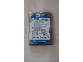 "Hard Disk WD5000BEVT 2,5"" 500GB"