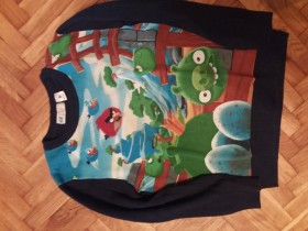 H&M ANGRY BIRDS DZEMPER 122-128