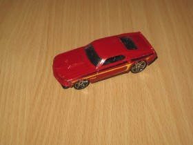 Hot Wheels 1969 Ford Mustang Fastback Red