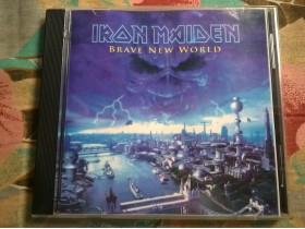 IRON MAIDEN - Brave New World (CD, Rezanac)