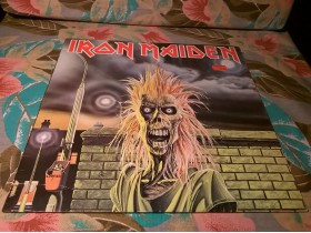 IRON MAIDEN - Iron Maiden (LP, original Germany)