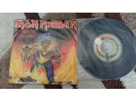 "IRON MAIDEN SP EP 7"" - Number of the beast"