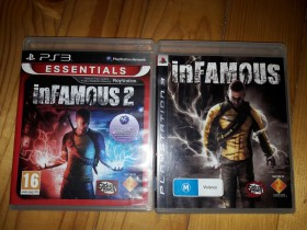Infamous 1 i 2 ps3