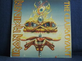Iron Maiden - The Clairvoyant(live gatefold cover)